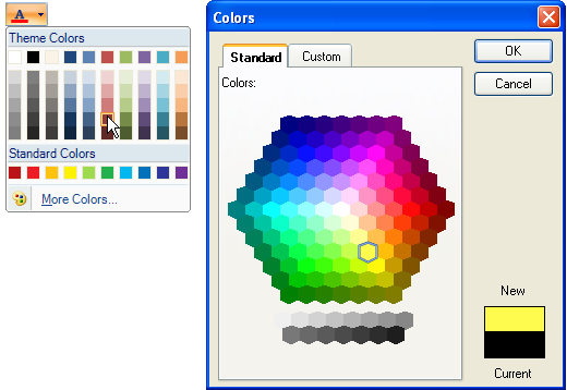 how to add custom color code in indesign