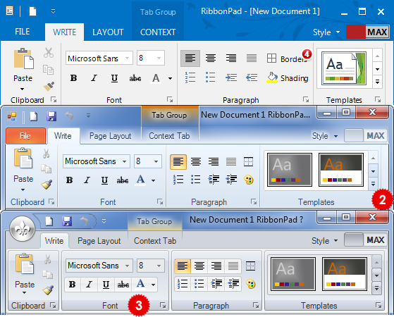 DotNetBar with Metro UI, Office 2010, 2007 Ribbon Controls