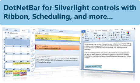 Create Professional Silverlight Applications with DotNetBar for Silverlight