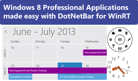 Create Professional Windows 8 Applications with DotNetBar for WinRT